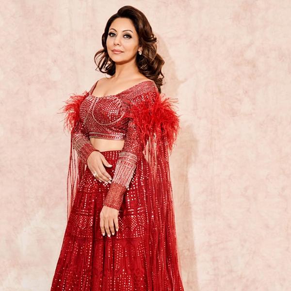 Gauri Khan In Red Lehenga