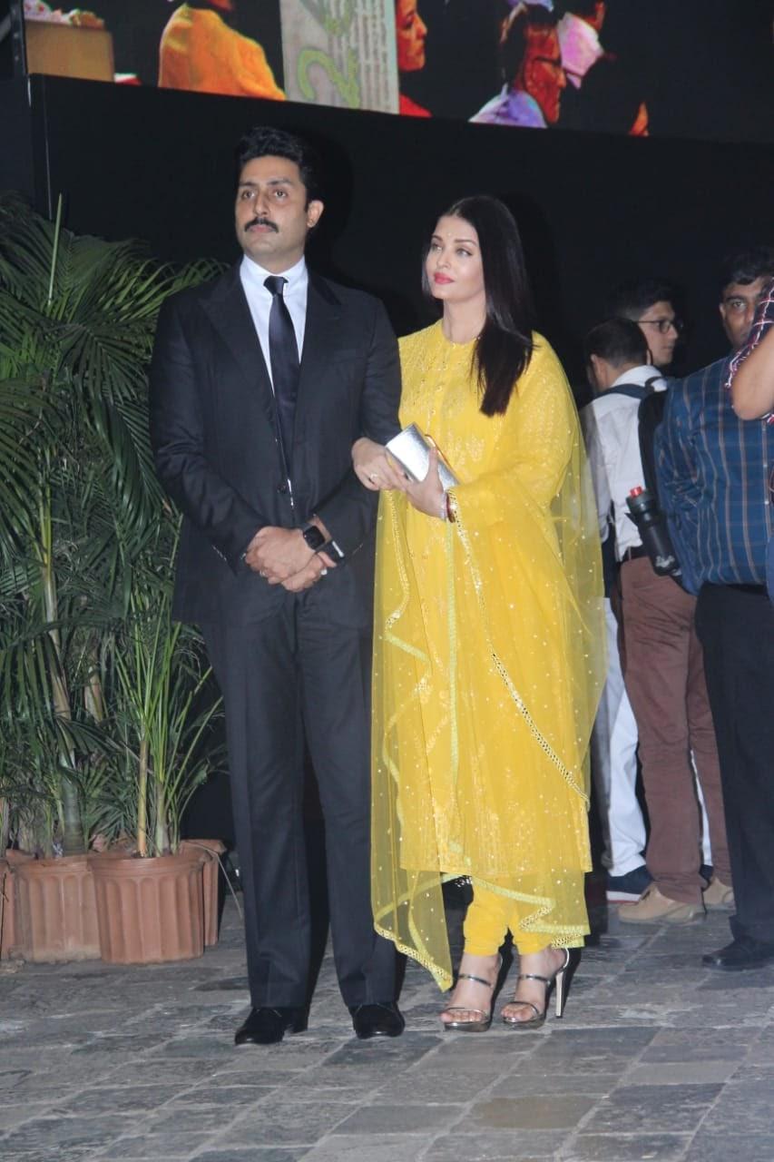 Aishwarya Rai Bachchan has transfixed many in Falguni Shane Peacock